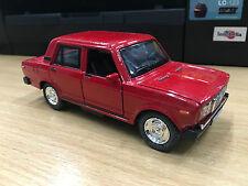 VAZ 2107 LADA red car model Light&sound TOY model diecast Car present