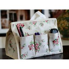 Craft Tissue Box Cover Bag Multifunction Container Bag Phone Pen Key Pocket TR