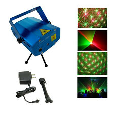 MINI Videoproiettore regolabile DJ DISCOTECA LUCE STADIO Xmas Party LASER lighting SHOW
