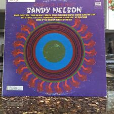 PROMO NM Sandy Nelson Rebirth of the Beat LP Vinyl Dick Hyman Steve Reich Rock