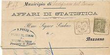 P3927    Modena, SAVIGNANO sul Panaro annullo quadrato 1896
