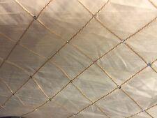 LIGHT GOLD DIAMOND Plissettato Stile Finta Seta in tessuto con paillettes al metro