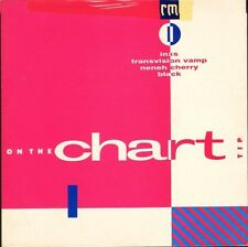 "ON THE CHART TIP 1 inxs/transvision vamp/neneh cherry/black 7"" PS EX/EX sos"