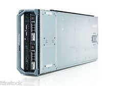 Dell PowerEdge M600 server blade Xeon 8 Core 2x QUAD CORE E5420 2,5 GHz 16GB di RAM