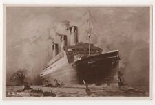 S.S. Majestic Shipping RP Postcard B614