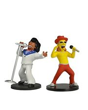 "The Simpsons 25th Anniversary - 2"" Figure Set - Kid Rock & James Brown - NECA"