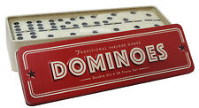 Dominoes In A Tin Game Double Six 28 Set New