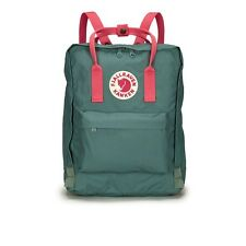 New Women Men Fjallraven Kanken 23510 Classic Backpack(#664-319Frost Gn-peach pk