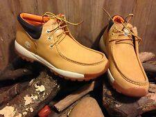90s TIMBERLAND  3 EYE CHUKKA BOOTS  29016 WHEAT SIZE 11.5 M MENS
