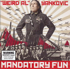 """Weird Al"" Yankovic - Mandatory Fun (2014)  CD  NEW/SEALED  SPEEDYPOST"