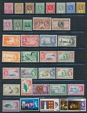 Cayman Islands 1900-1968 (35) ALL DIFFERENT; MOSTLY MLH; NO FAULTS; CV $75