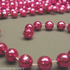 9ft Classic PINK Beads Christmas Party Beaded Tree Garland Decoration