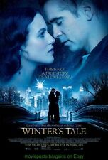 WINTER'S TALE MOVIE POSTER DS 27x40 COLIN FARRELL JESSICA BROWN FINDLAY 2014