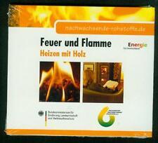 Heizen mit Holz Feuer und Flamme Scheitholz Pellets Bioenergie Holz DVD NEU