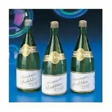 96 CHAMPAGNE BOTTLE WEDDING BUBBLES Free Shipping