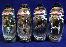 4 New SLAVE 1 Wookiee Flyer CLONE TURBO TANK Tie Fighter STAR WARS Titanium 2005