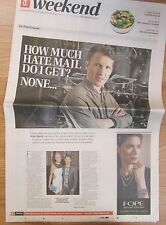 James Blunt - Weekend – The Daily Telegraph – Saturday 2 November 2013