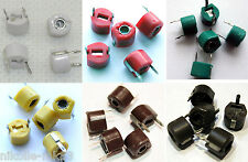 MIX 2X Variable Ceramic 6MM trimmer capacitors from 3.8 pF before 100 pF - 12pcs