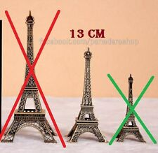 13cm Paris Eiffel Tower Table Display Figure Centerpiece Cake Topper