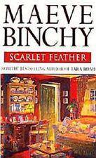 Maeve Binchy~SCARLET FEATHER~SIGNED UK 1ST/DJ~NICE COPY