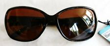 Woman's Foster Grant Beauty Solutions Petite Sunglasses 100% UV Black & Gold