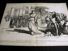 Thomas Nast MEDIA Uncovers GOVERNMENT FRAUD, CORRUPTION, BRIBERY 1873 Lg. Print