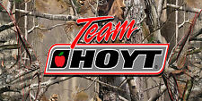 Team Hoyt Full Color Vinyl Banner Bow Shop Display Graphics Sporting Goods