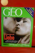 GEO Das neue Bild der Erde Nummer 1 1997 Die Evolution der Liebe