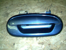 OEM 00 Ford Expedition Blue Passenger's Side Exterior Door Handle entry lever RH