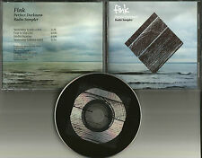 FINK Perfect Darkness 3TRX SAMPLER w/ RARE EDIT PROMO Radio DJ CD single 2011