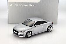 Audi TT Coupe florettsilber 1:18 Minichamps