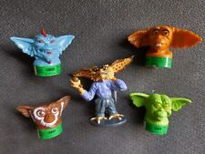 GREMLINS 2 Candy Containers (4) Gizmo Lenny Daffy Mohawk & The Brain PVC