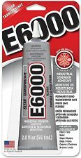 E-6000 Industrial Strength Glue Adhesive 2.0 Oz. Permanent Bond Multi Purpose