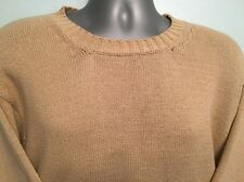 Mens BARBOUR crew neck jumper sweater size large