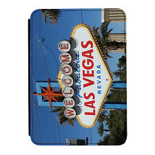 Welcome to Las Vegas Sign Nevada iPad Mini 1/2/3 PU Leather Flip Case Cover