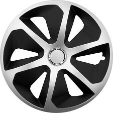 "SET OF 4 14"" WHEEL TRIMS TO FIT  FORD FIESTA, FOCUS, KA + FREE GIFT #E"