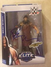 WWE BRAY WYATT Signed Mattel Elite Action Figure Series 36