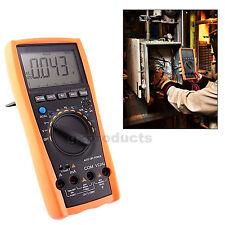 VC99 Digital Multimetro Tester Termometro Voltmetro Capacità di Frequenza AC DC
