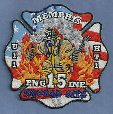MEMPHIS TENNESSEE FIRE DEPARTMENT ENGINE COMPANY 15 PATCH SMOKEY CITY