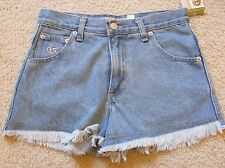 New with Tags Women's Interstate IS High-Waist Blue Jean Cut-Off Shorts Size 1