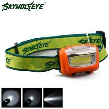 3W Mini Headlight 300Lumens LED Headlamp Flashlight Lamp Head Torch Camping A6