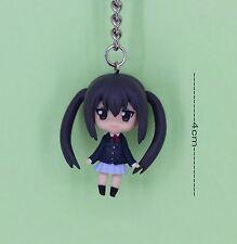 K-ON Japanese Anime Key Ring Chain 4cm Figure AZUSA NAKANO