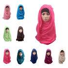 New Muslim  Long Soft Hijab Maxi Islamic Scarf High Quality Shawl Wrap Women