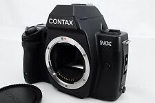【EXC+++】 Contax NX 35mm  Film Camera Body Only w/ D-11 Data Back, cap from japan
