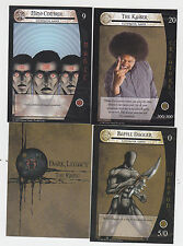 2013 SDCC COMIC CON KAISER DARK LEGACY THE RISING PROMO CARD SET OF 3