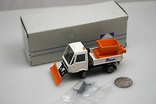 Conrad 5068 Multicar truck with plow and sander 1:50