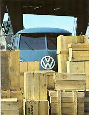 Volkswagen transporter 1500 split écran 1965-66 marché néerlandais sales brochure