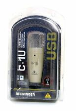 New ! BEHRINGER C-1U USB Studio Condenser Microphone Import JAPAN F/S