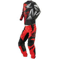 Fox Racing HC Honda 180 Race Gear Set Red Black White Medium Jersey 30 Pants