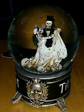 Musical Snowglobe Waterglobe Halloween Dancing Skeletons Decoration Prop Gothic